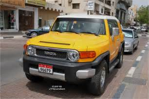 Toyoya Jeep Al Ain City Daily Photo Yellow Cars For Mellow Yellow Monday