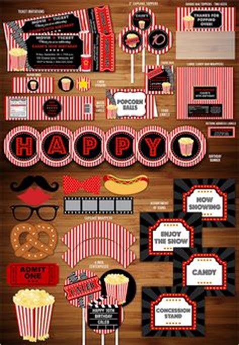 printable hollywood party decorations movie clip art movie clipart download movie party theater