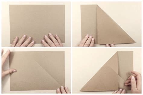 How To Make A Paper Pocket - origami paper storage pocket tutorial