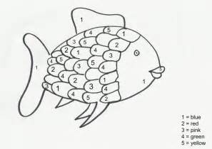 rainbow fish coloring page the rainbow fish pattern clipart best