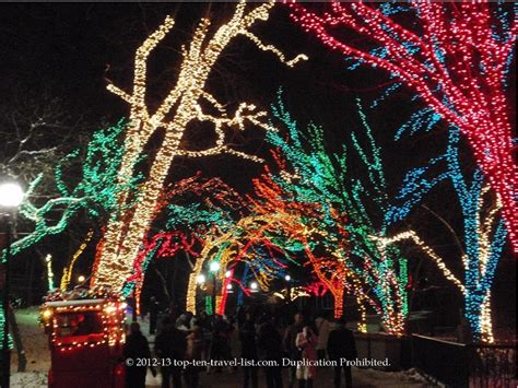 zoo lights chicago 50 things to do this winter in chicago top ten
