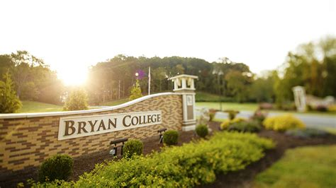 Christian Ranking Mba by Bryan College Named Among Top 20 Christian Colleges