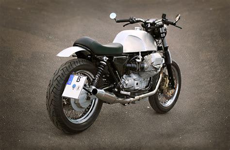 customized motocross moto guzzi custom by urban motor