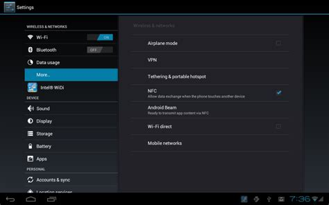 how to screenshot on android tablet near field communication on android tablets and held devices an introduction intel