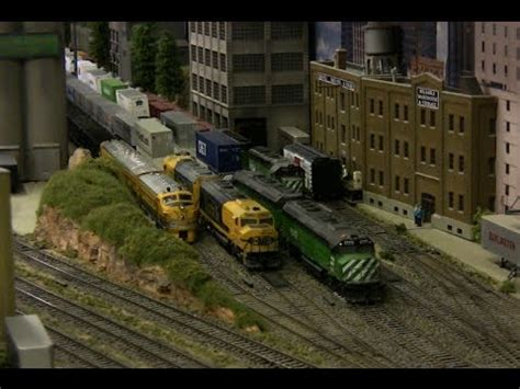 santa fe layout youtube tall timber santa fe ho train layout youtube