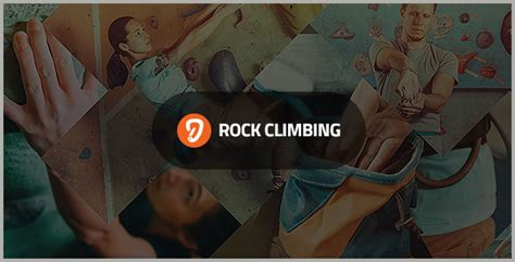 Rock Wall Climbing Sport Club Wordpress Theme Rock Climbing Log Book Template