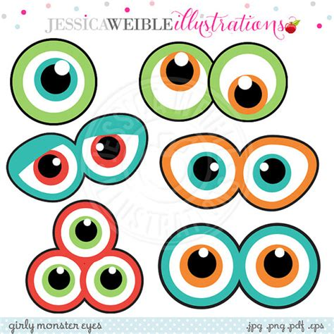 printable alien eyes monster eyes cute printable birthday party favors