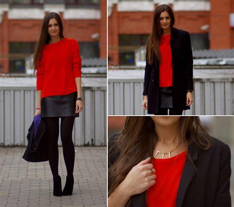 h zara sweater diy skirt diy leather skirt