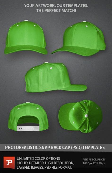 hat templates for photoshop pin by prepress toolkit on photo real apparel templates