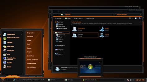 themes for windows 7 design tech light gold windows 7 theme by designfjotten on deviantart