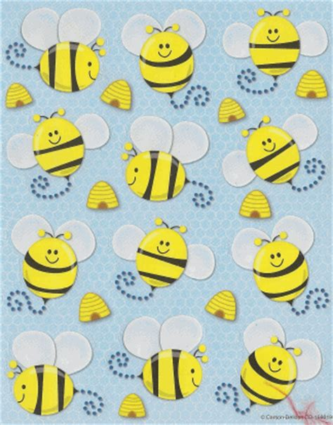 printable bee stickers cute yellow bee stickers could print and cut out then