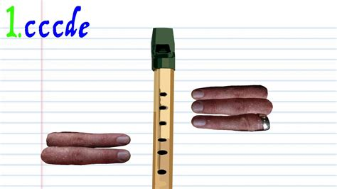 row row your boat tin whistle how to play row row row your boat on the tin whistle youtube