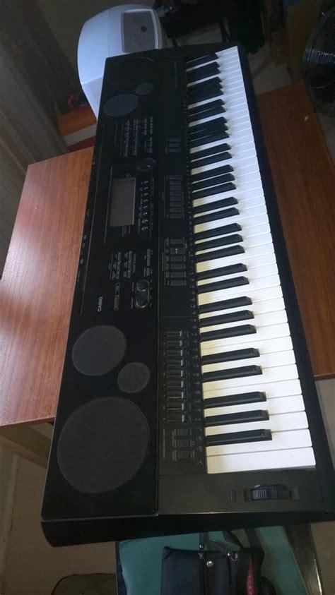 Keyboard Casio Wk 7500 casio wk 7500 image 1158916 audiofanzine