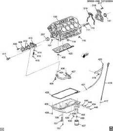 engine asm 5 3l v8 part 4 pan and related parts
