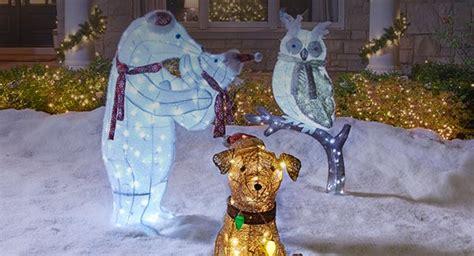 outdoor christmas animal lights my blog