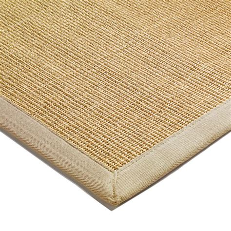 sisal rug with border sisal runners and rugs with beige border from only 163 59