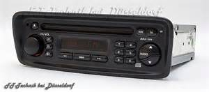 Cd Player For Peugeot 206 Peugeot 206 Cd Radio Autoradio Cd Player Spieler Cabrio