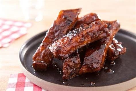 cuisiner l 馗hine de porc recette de quot bbq ribs quot travers de porc confits aux 233 pices