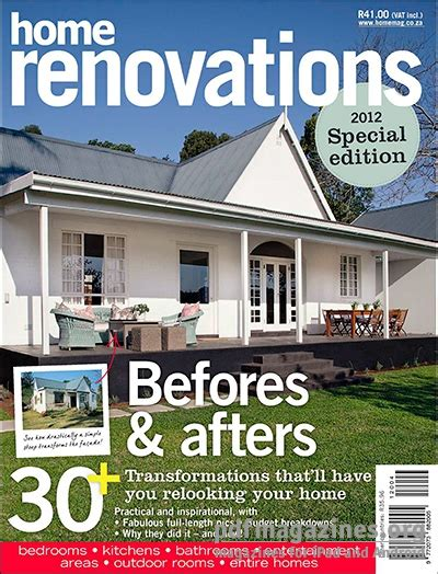 house renovation magazine 28 images published a garden