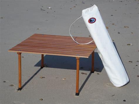 roll up table in a bag nantucket roll up table in a bag cape cod chair