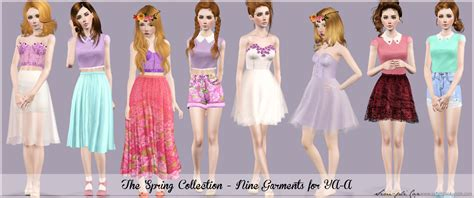 photo collection sims 3 blog my sims 3 blog spring collection by simplicaz