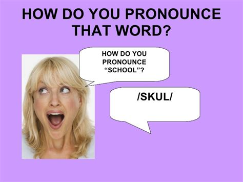 how do you pronounce classroom language