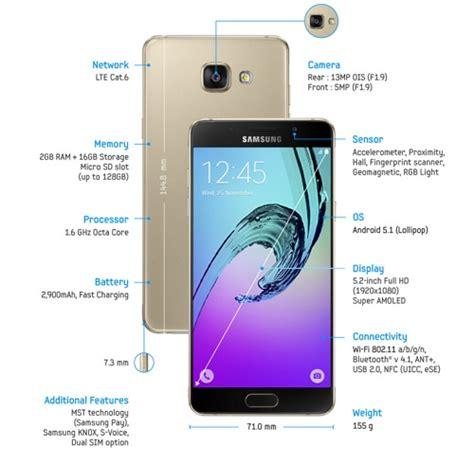 Harga Samsung A5 Edition harga samsung galaxy a5 2016 edition dan spesifikasi