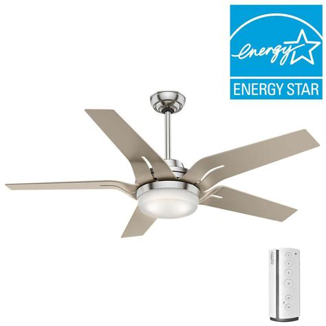 tidal breeze 56 in led indoor silver ceiling fan aire a minka group design tidal breeze 56 in led indoor