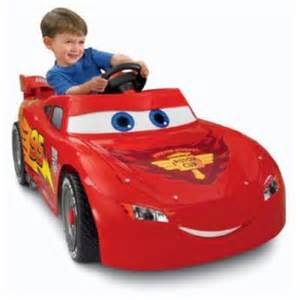 Lightning Powered Car Disney Cars Power Wheels Lightning Mcqueen 6 Volt Battery