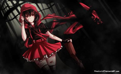 black hair with red riding hood nightcore rock mix 7 youtube