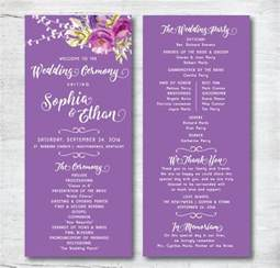 program templates wedding program template 61 free word pdf psd