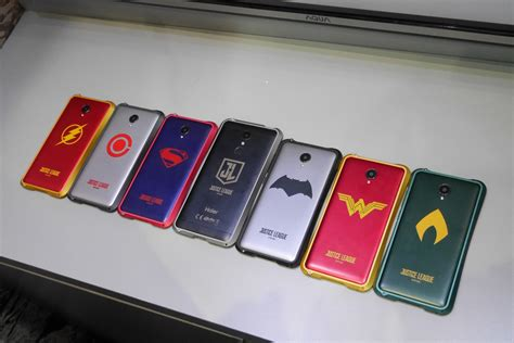 Haier G7 Justice League Superman haier justice league edition smartphone wajib untuk fans