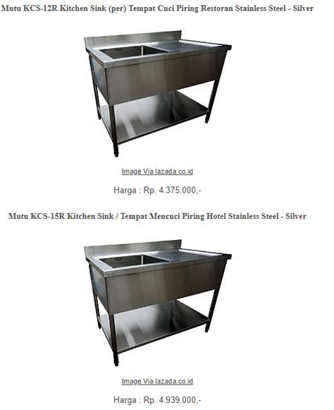 Wastafel Set Murah By Sjsanitary harga wastafel cuci piring minimalis paling murah 1 dan 2