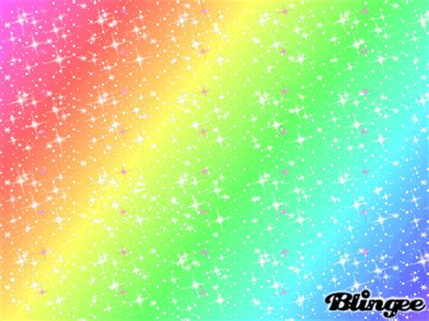 gif wallpaper rainbow sparkly rainbow picture 61516354 blingee com