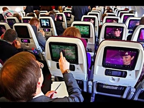 qatar airways singapore doha  economy class youtube