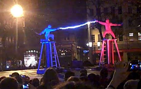Tesla Fight Epic Tesla Coil Fight Things