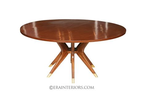 Kitchen Collection Bl dining table furniture mid century round dining table