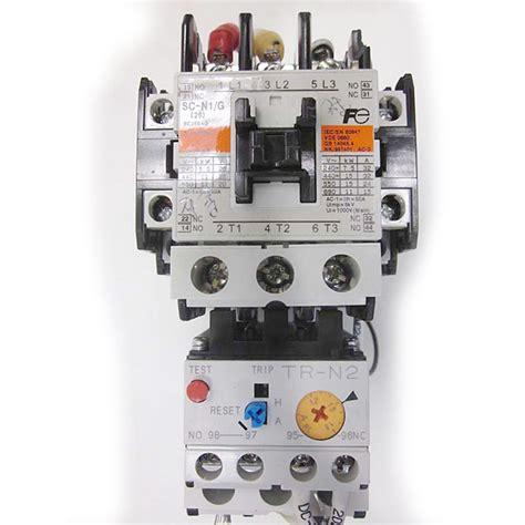 Contactor Fuji Sc N1 fuji electric magnetic contactor sc n1 g 60a w thermal