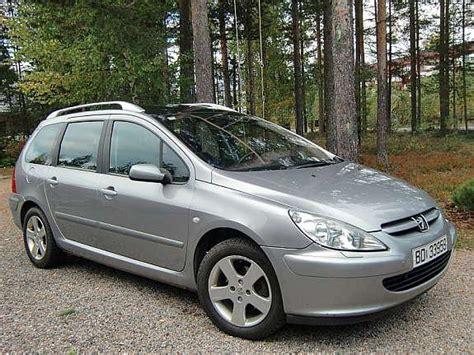 307 Peugeot 2003 Model