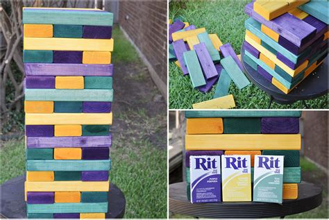 how to make backyard jenga diy giant summer backyard games