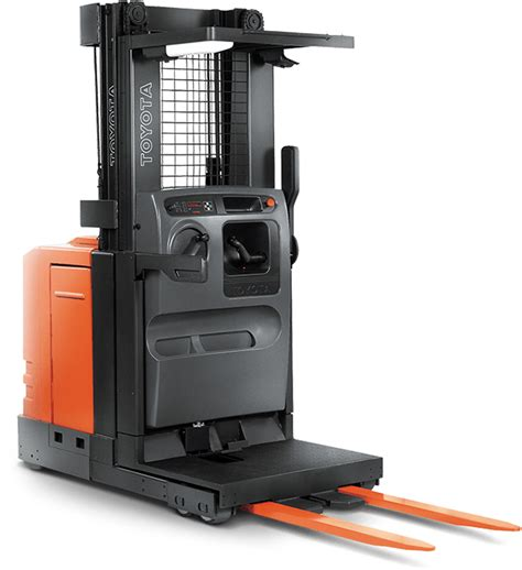 series electric order picker toyota forklifts