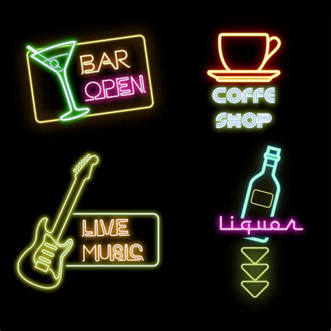 what is coffee house music bar with coffee house and music sign vector free vector in