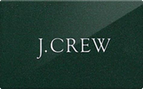 J Crew Check Gift Card Balance - sell j crew gift cards raise