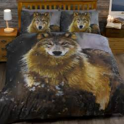 animal print twilight wolf husky quilt duvet cover