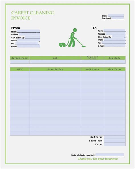 cleaning service receipt template 15 disadvantages of realty executives mi invoice and