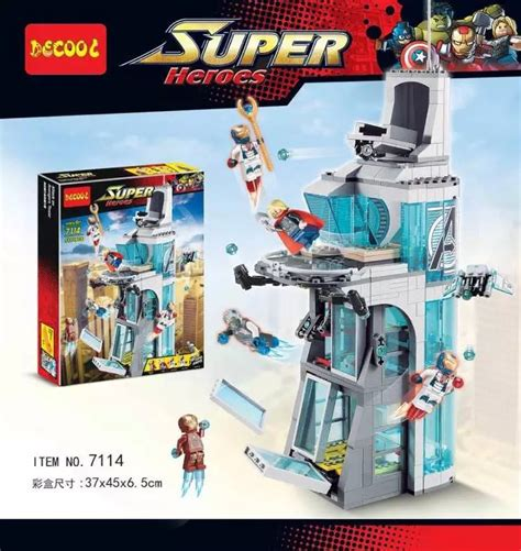Lego Sy370 Tower With Ultron Get Cheap Lego Thor Sets Aliexpress Alibaba