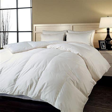cotton king comforter blue ridge down alternative 700tc cotton sateen king