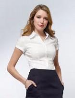 Image result for girl white short-sleeved shirts