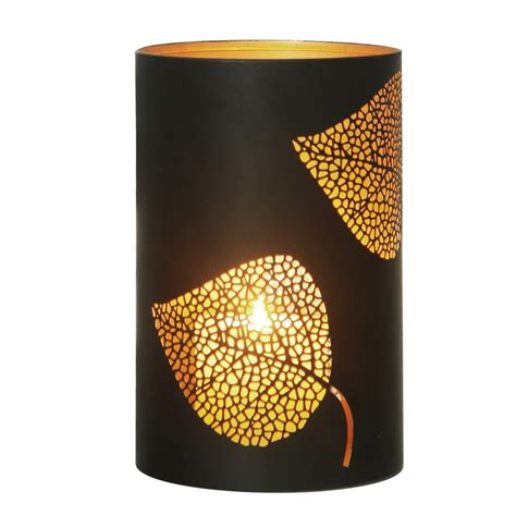 Cylinder Candle Holders by Candle Holders Leaf Metal Cylinder Candle Holders