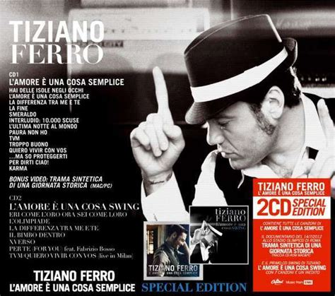 L è Una Cosa Swing by Tiziano Ferro L 232 Una Cosa Semplice